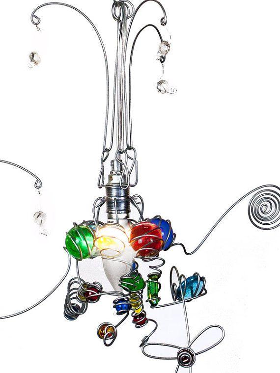 Glas Lämpchen, Kinderlampe,  FARBE,  E14 Fassung, Blau, Rot Grün, Gelb, LED oder Halogen