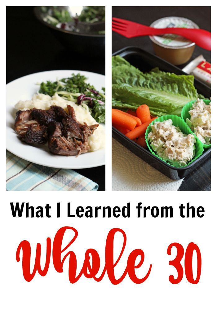 What I Learned from the Whole 30 | Good Cheap Eats - Looking for Whole 30 reviews? Here are my findings from my Whole 30, what I learned and what I'm going to do about it.