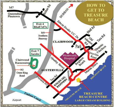 Contact & Directions | Treasure Beach