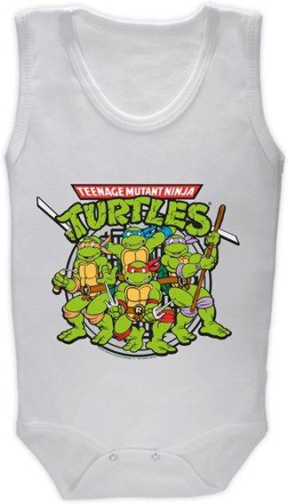 Ninja Kaplumbağalar Kendin Tasarla - Bebek Zıbın