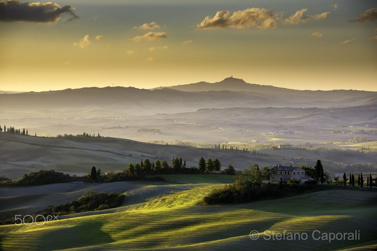 Val d'Orcia, Tuscany - Val d'Orcia, Tuscany