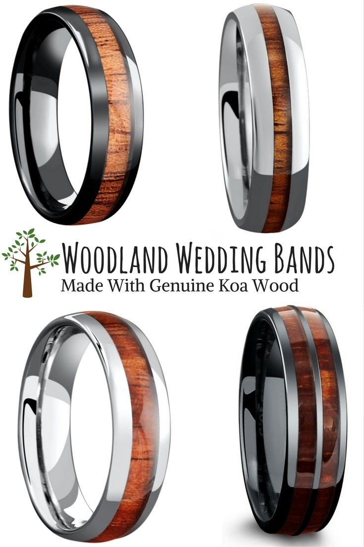 wedding ring guide marvel wedding rings The woodland wedding ring collection For the future husband who loves the great outdoors