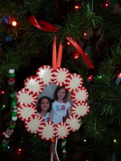Peppermint ornaments...arrange candy on foil, bake at 250 for 10-15 min.