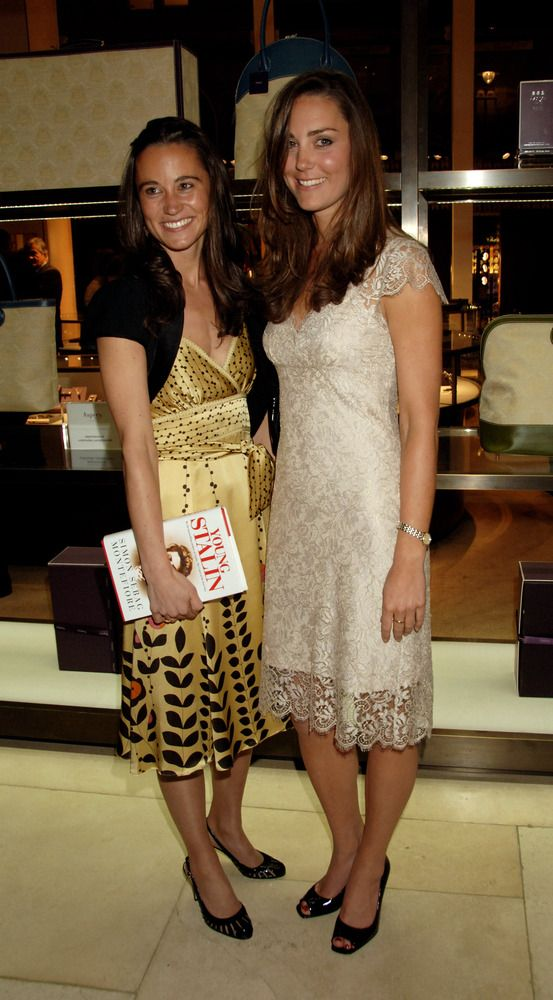 May 14, 2007 - Kate Middleton attends the book launch party of The Young Stalin: The Adventurous Early Life Of The Dictator 1878-1917 by Simon Sebag Montefiore, at Asprey May 14, 2007 in London, England.