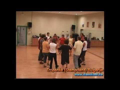 Tropanka (Stampdans) Bulgarije - YouTube
