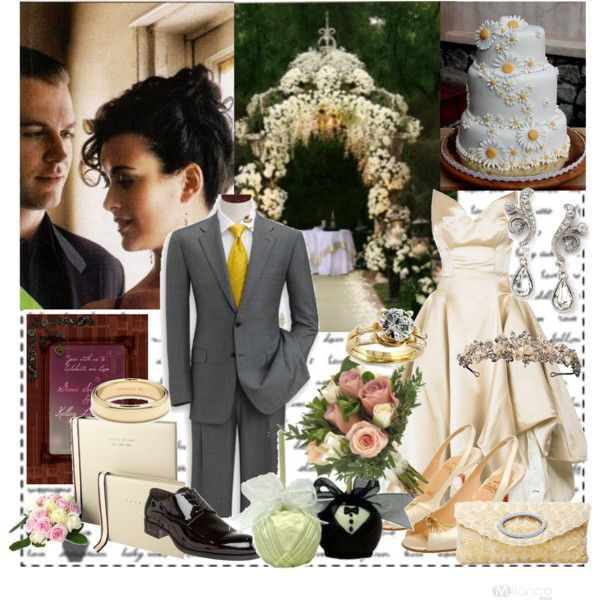 Ziva David & Anthony DiNozzo's Wedding Day!, created by penny192 on Polyvore
