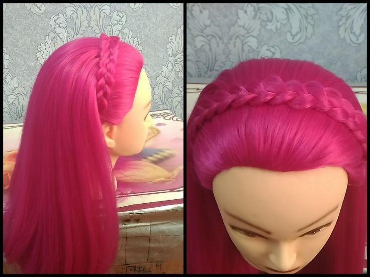 Lace Braid Headband hairstyle in 2 minutes/Кружевная коса ободок из волос за 2 мин https://www.youtube.com/watch?v=pbLPgw3XWUo