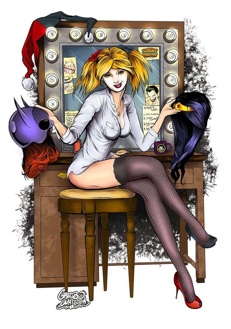Harley Quinn Cosplay by Gregbo Watson*
