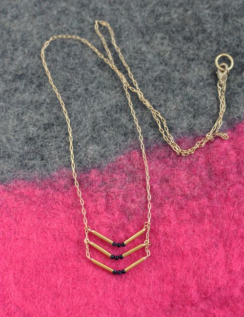 Best chevron necklace ideas on pinterest long