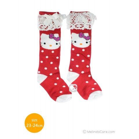 Kaos Kaki Anak Hello Kitty Socks (Merah Polkadot Putih, Putih) Rp. 27.500   www.melindacare.com atau hubungi 081321148408 dan Pin 765BEE5E