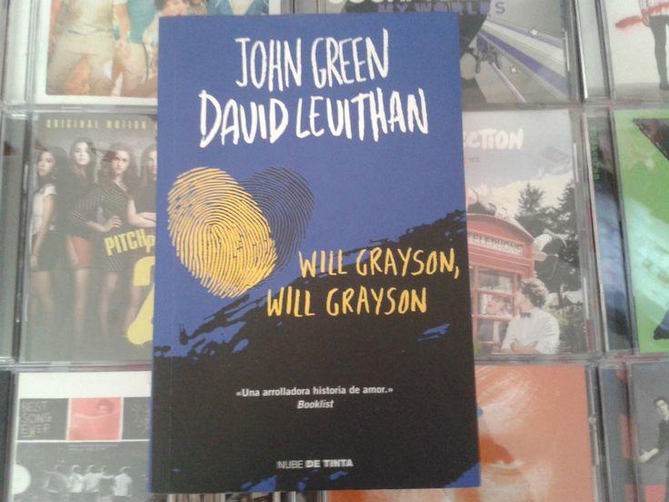 """""""Will Grayson, Will Grayson"""" escrito por John Green y David Levithan:"""