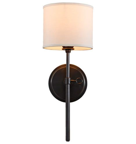 "'Keystick' Wall Sconce, Item #A3820, 18.75""H x 7""W x 8.5""D, Oil Rubbed Bronze, 1 x 60 watt, $150 USD (8/16/14) - Rejuvenation"