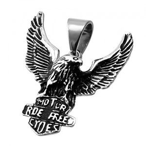 Stainless Steel Eagle Pendant: Steel Eagle, American Eagle, Majestic Pendant, Eagles, Steel Pendants, Stainless Steel