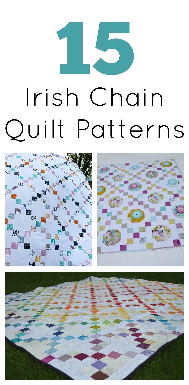Irish Double Chain Quilt Pattern Free : 25+ basta ideerna om Irish chain quilt pa Pinterest Lapptacken for timmerstugor och ...