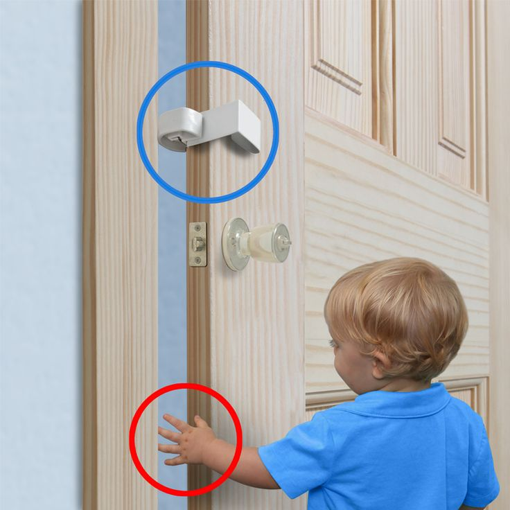 The Pinch-Not Door Safety Bumper is a retractable (on/off) device