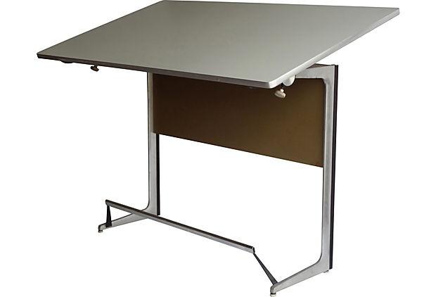 1960s herman miller drafting table