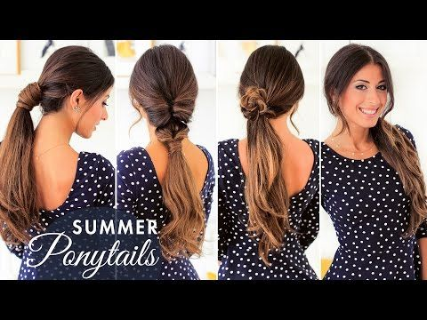 7 Different Ways to Wear A Ponytail