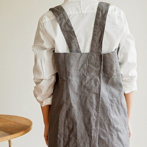 The Hearty Home: A Japanese Style Apron Tutorial