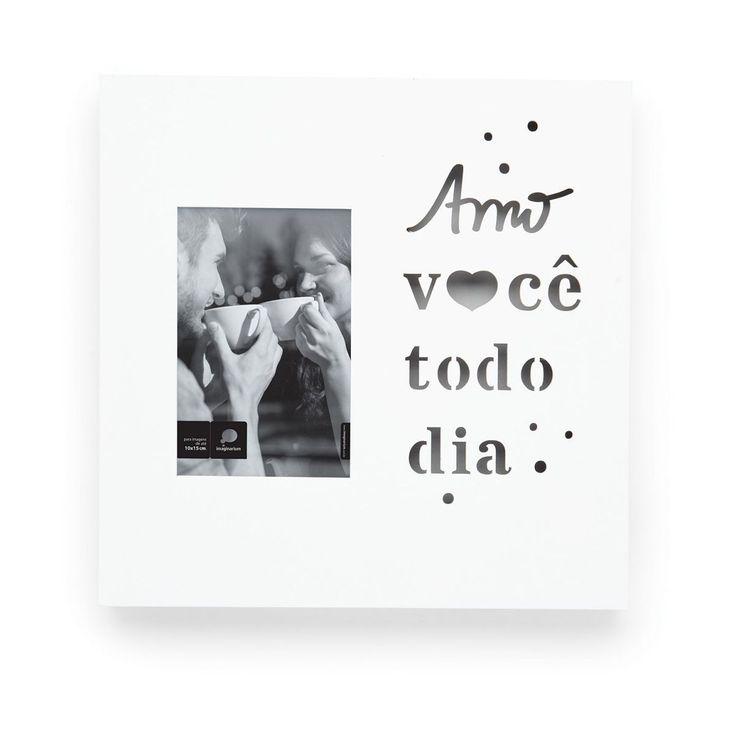 PORTA RETRATO LED AMO VOCE - Imaginarium