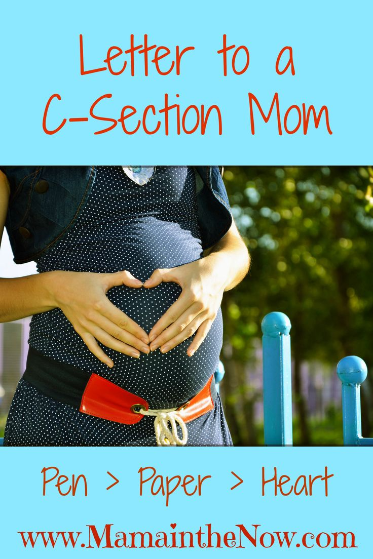 Letter to a C-Section mom: is a must-read for any woman who's birth story didn't go quite as planned. Beautifully written, raw and honest - it is a healing read!