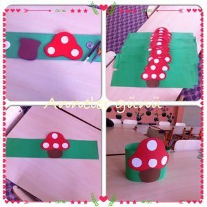 Mushroom craft idea for kids | Crafts and Worksheets for Preschool,Toddler and Kindergarten