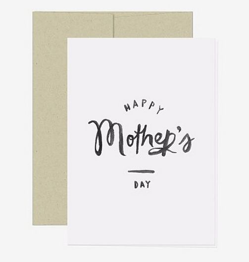 Free Mother's Day Card Printable-October Ink