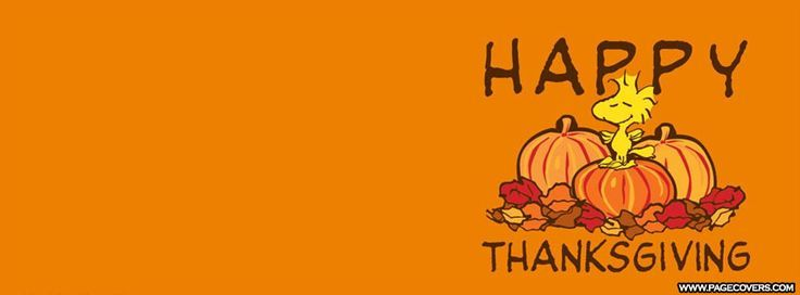 Snoopy Thanksgiving Facebook Cover - PageCovers.com ** See more by clicking the photo