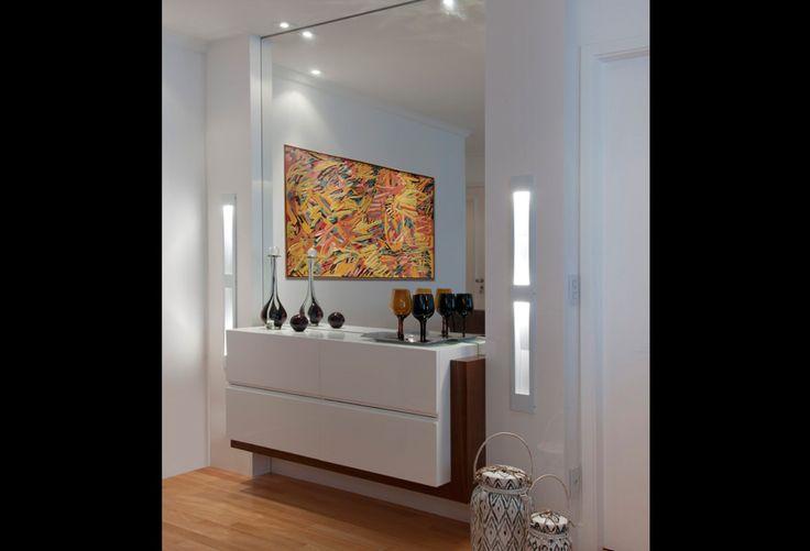 Linea mobili m veis planejados para salas e livings entrada hall pinterest bar - Aparadores de entrada ...