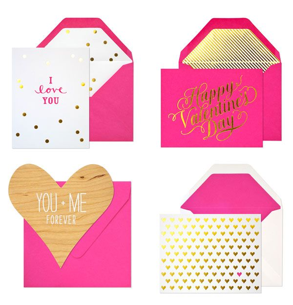 Gold & Fuchsia Valentine's Cards: Party Ideas Holidays, Valentines, Wedding, Fuchsia, Valentine Cards, Pink, Gold, Design, Valentine S