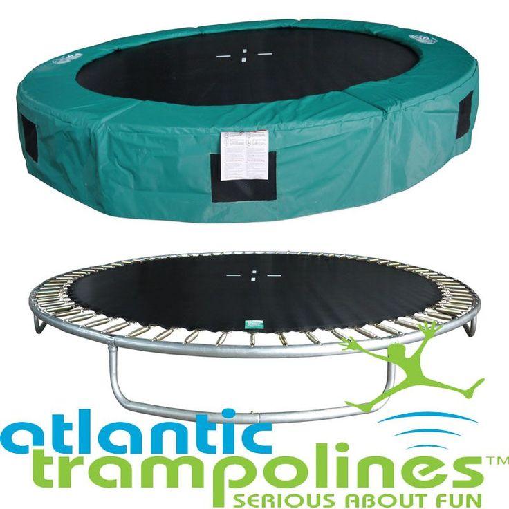 12ft In-Ground Atlantic Trampoline