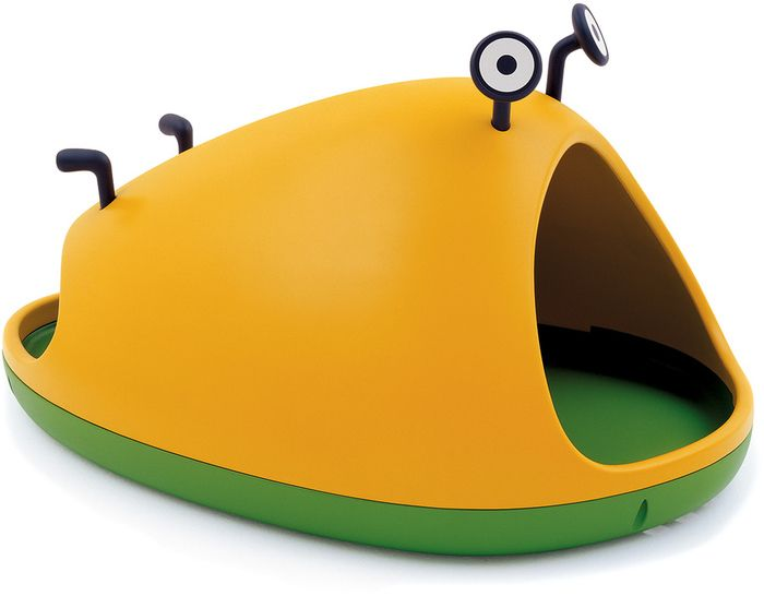 nido nest cave by Javier Mariscal, 2005, Rotational-molded polyethylene, Made in Italy by Magis