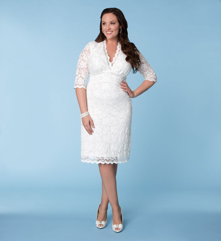 Luxe Lace Wedding Dress | Plus Size Special Occasion | OneStopPlus