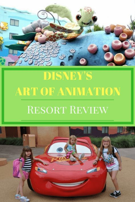 Walt Disney World Art of Animation Resort Review - Walt Disney World Value Resort