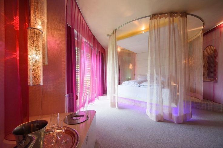 Arabische wohnzimmer ~ Pink orientalisch wohnzimmer design