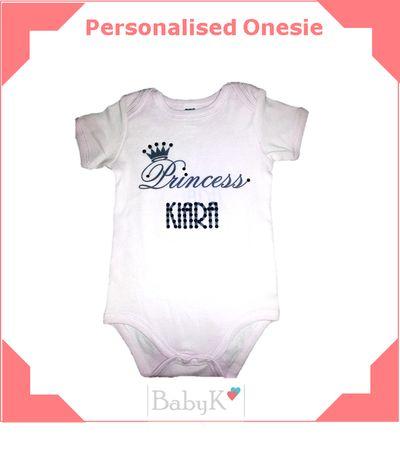 Personalised Onesies from BabyK.