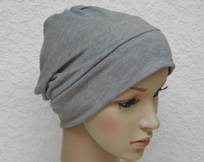 Women's chemo beanie, viscose jersey head wear, hair loss hat, chemo head wear, chemo cap, under cap, different colours available