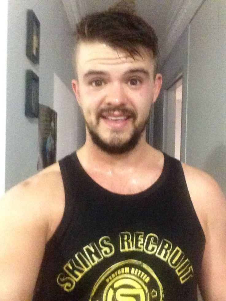 Skins recruit singlet.. Check..  Night time run.. Check...  Get stupid sweaty... Check