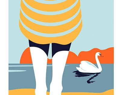 """Check out new work on my @Behance portfolio: """"Swan"""" http://be.net/gallery/52951543/Swan"""