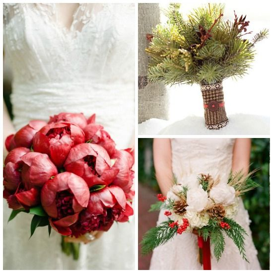 118 Best Images About Christmas Wedding Bouquet On Pinterest