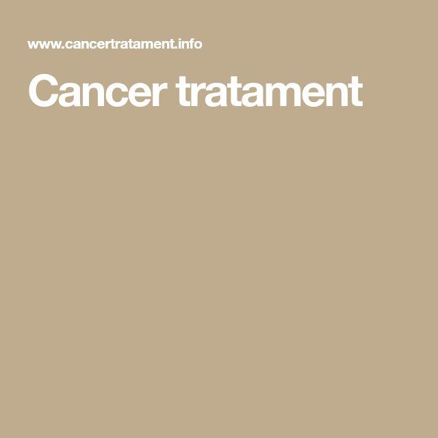 Cancer tratament