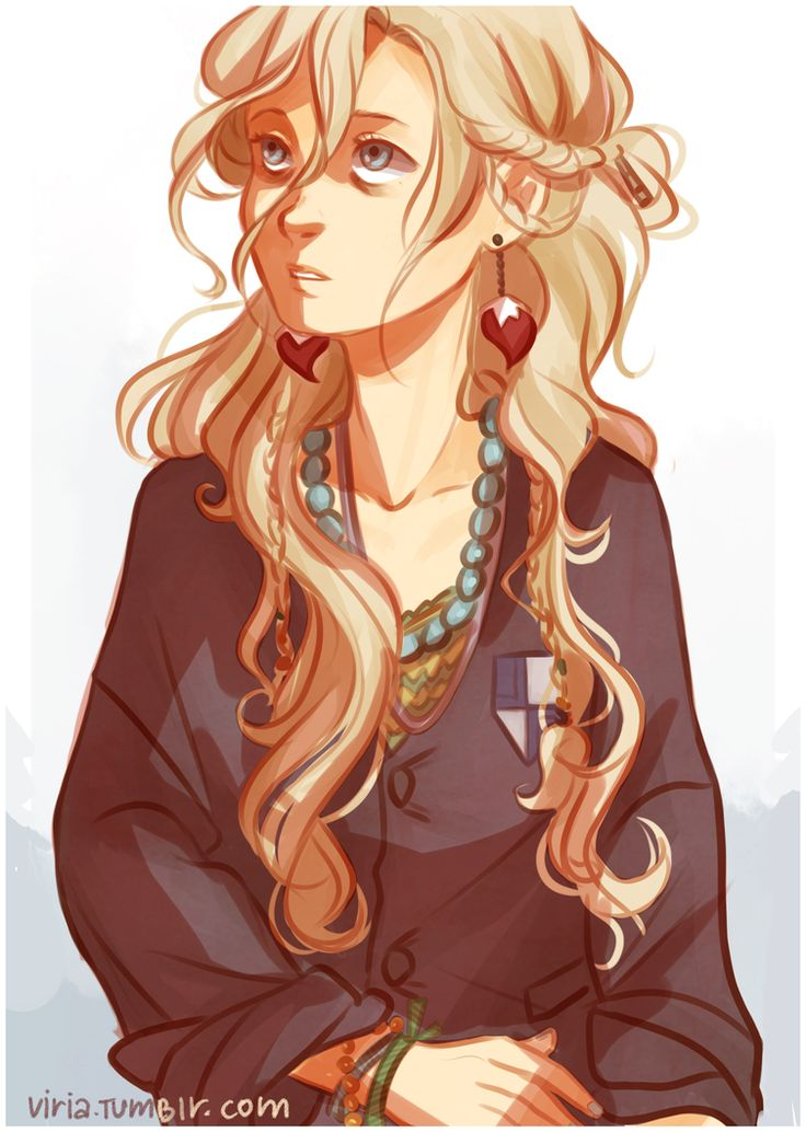 Not crazy, just a little unwell. Luna Lovegood by *viria13 on deviantART