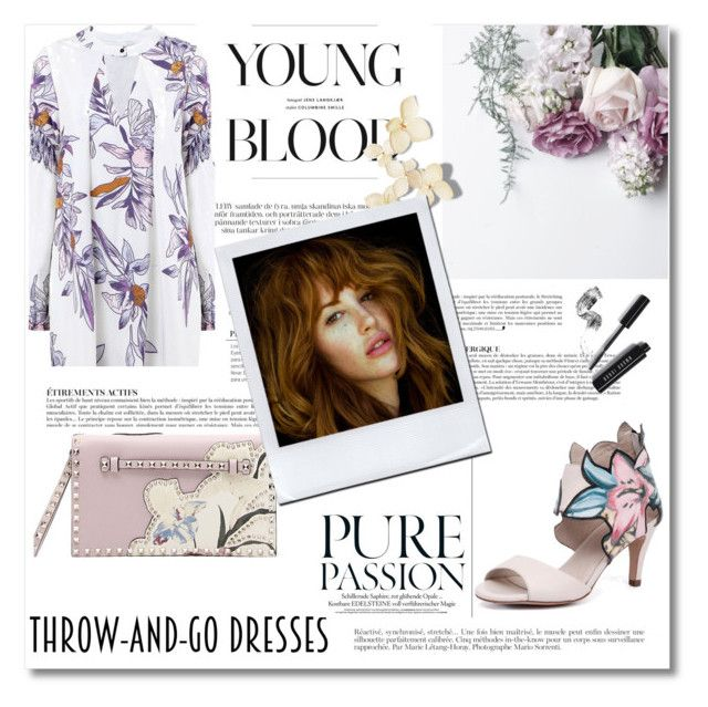 """""""Throw and go dress!"""" by gamgul ❤ liked on Polyvore featuring Django & Juliette, Valentino, Anja and Bobbi Brown Cosmetics"""