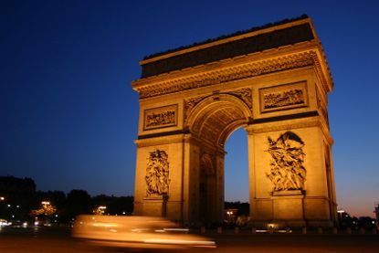 I think it's called the Arc de Triomphe