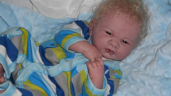 CUSTOM Reborn doll Berenguer BABY BOY with full by JunebirdNursery
