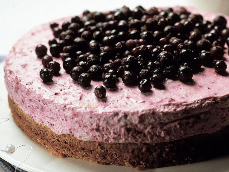 Mustaherukka-suklaakakku - Reseptit