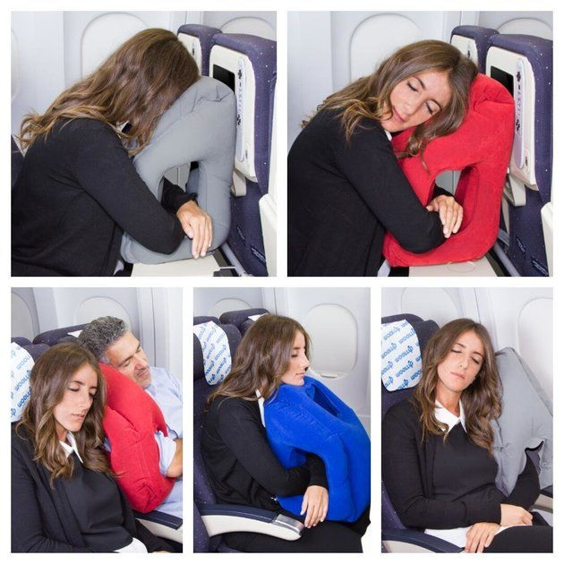 This Travel Pillow May Be The End Of Your Sleepless Airplane Flights | The Huffington Post