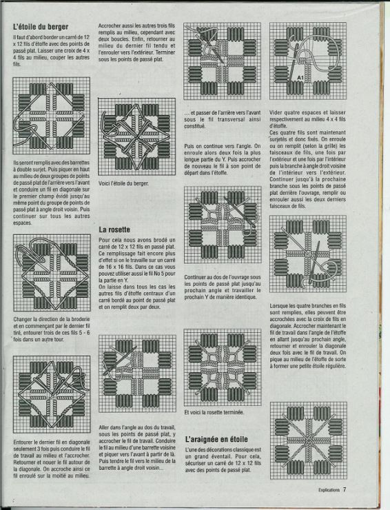 Hervorragend 746 best Hardanger Embroidery Tutorials images on Pinterest  VS03