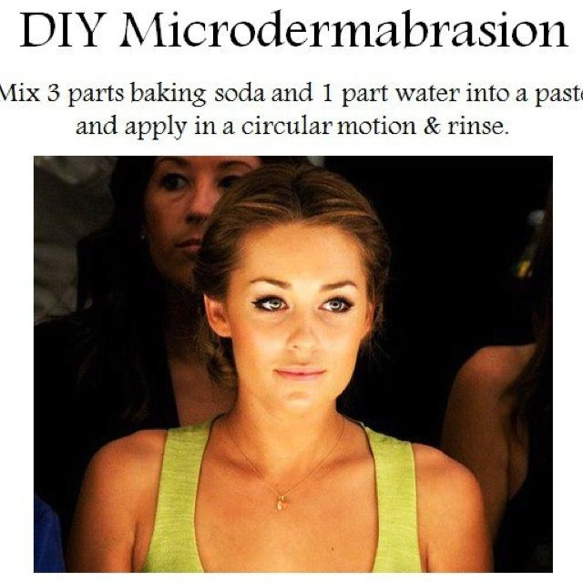 DIY Micro Dermabrasion: just tried this! Will be doing it once a week!