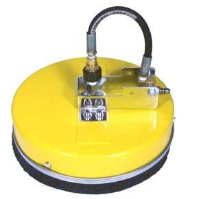"""WHIRL-A-WAY 12"""" WALL Flat Rotary Surface Cleaner.    Features        Max Pressure: 3,000 PSI      Max Flow: 8.0 GPM      Max Temperature: 180° F      Color: Yellow Polypropylene      Size: 12""""      Weight: 5.6 lb  from ETS Company http://www.shopetsonline.com/12-WHIRL-A-WAY-SURFACE-CLEANER-p/be-1200wawy.htm"""