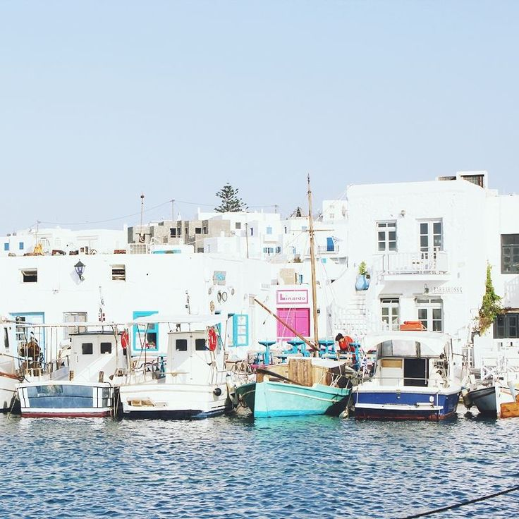 Naoussa port, Paros island, Cyclades, Greece